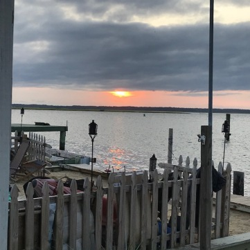 Sunset over Chincoteague
